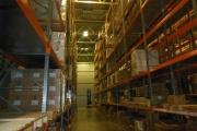монтаж складских стелажей