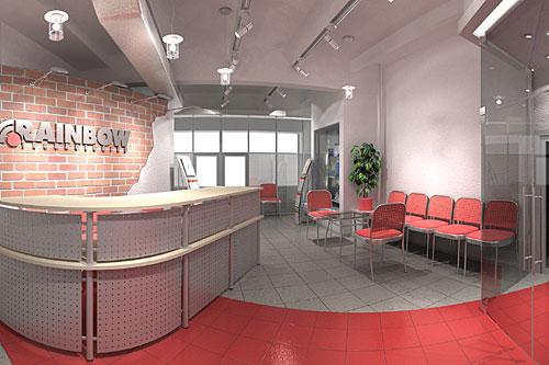 1 дизайн офиса визуализация