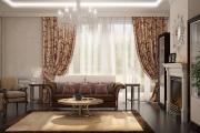 Дизайн гостиной, визуализация