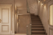 Дизайн холла, визуализация