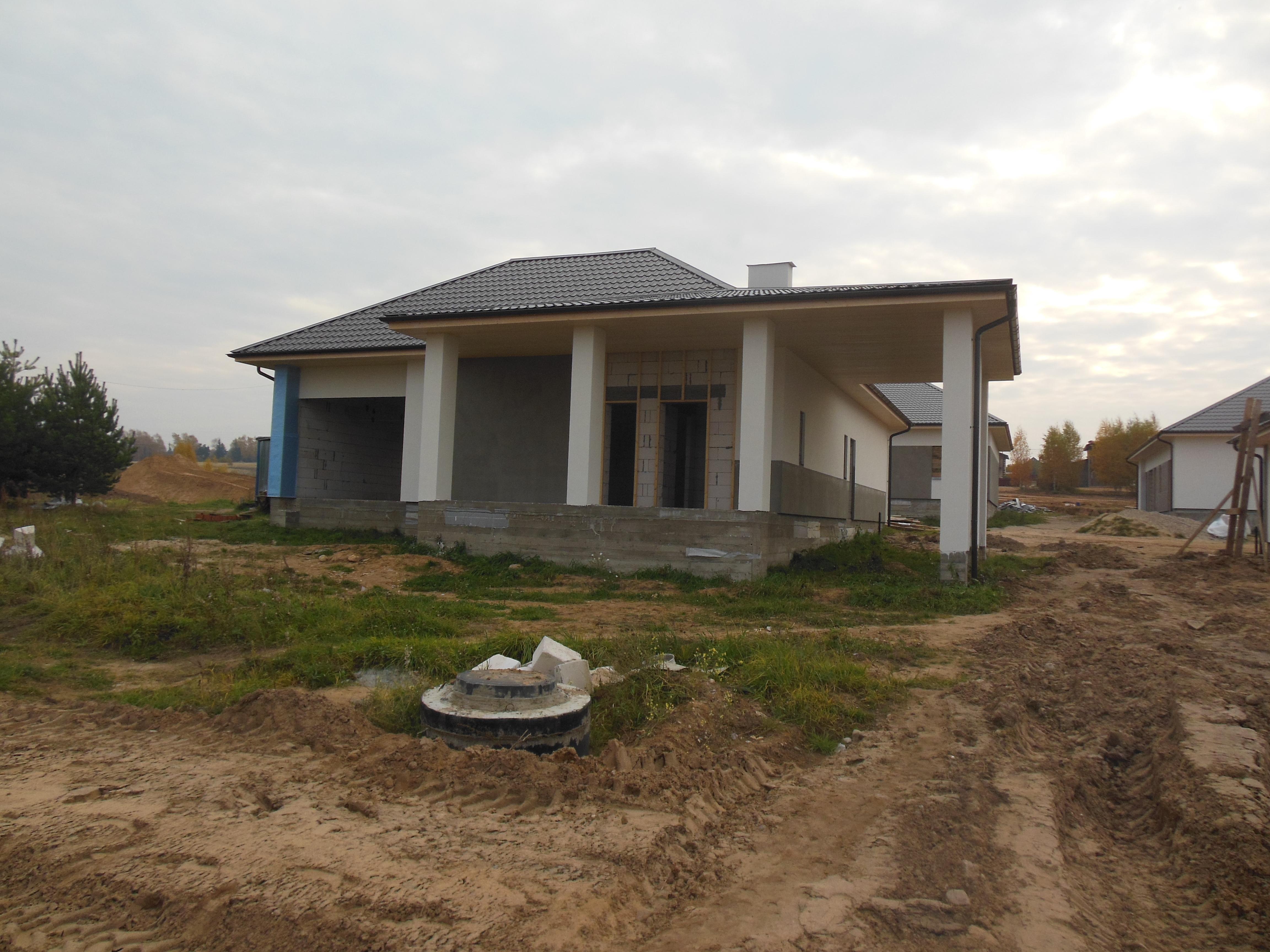 Строительство коттеджа