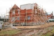 строительство котеджа